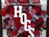 Razorback Decorating Ideas Arkansas Razorbacks Wreaths Hogs Jayne S Wreath Designs On Fb