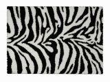 Real Zebra Fur Rug Black and White area Rug Awesome Rugnur Bella Zebra Print Amp Shag