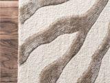 Real Zebra Fur Rug Nuloom Grey Hand Tufted Plush Zebra area Rug 5 X 8 Read More at