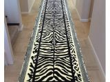 Real Zebra Rug Price Amazon Com Zebra Rug Long Hall Runner 32 In X 15 Ft 6 In Design