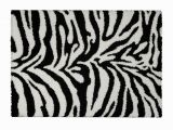 Real Zebra Rug Price Black and White area Rug Awesome Rugnur Bella Zebra Print Amp Shag