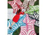 Real Zebra Rug Price Zebra Peruvian Llama Flat Weave Rug Woven Rug Jonathan Adler and Room