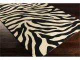 Real Zebra Rugs for Sale Hand Hooked Adele Zebra Indoor Outdoor Polypropylene Rug 2 6 X 8