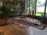 Real Zebra Skin Rug Uk Genuine Zebra Skin Cowhide Rugs Customer Pics Pinterest