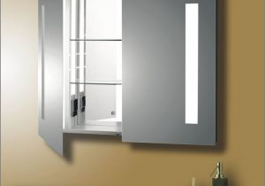 Recessed Lighted Medicine Cabinet
