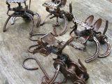 Recycled Metal Sculptures Garden Art Garden Art From Recycled Materials Metal Dogs Jangling Jack