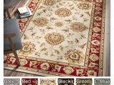 Red Black and Beige area Rugs Shop Well Woven Agra Traditional Ushak oriental area Rug 7 10 X 10