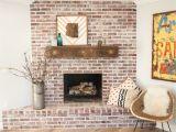 Refurbished Brick Fireplaces Stunning Whitewashing Brick Fireplace Surround or How to Whitewash