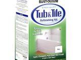 Reglaze Bathtub and Tile Rust Oleum Tub and Tile Refinishing 2 Part Kit