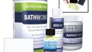 Reglaze Tub Kit Bathworks 22 Oz Diy Bathtub Refinish Kit with Slipguard
