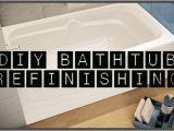 Reglaze Your Tub How to Restore and Refinish A Tub Bathtub Refinishing