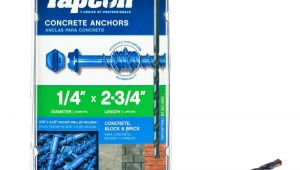 Removable Concrete Floor Anchors Anchors Fasteners the Home Depot