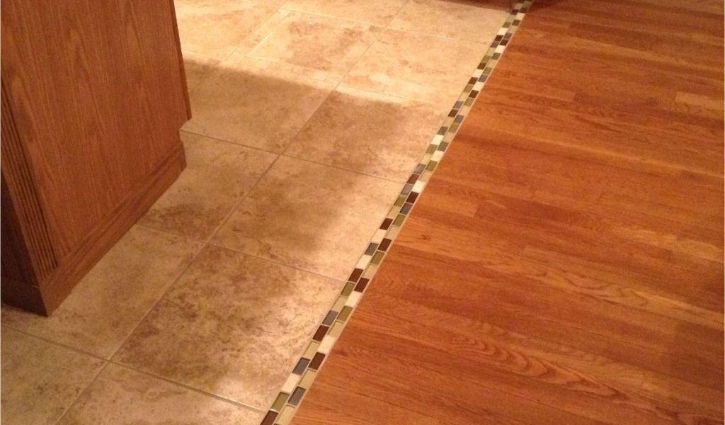 Removing Tile Glue From Hardwood Floors Transition Between Hardwood