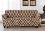 Reversible Pet Extra-long sofa Slipcover Shop Home Fashion Designs Brenna Collection Trellis Print Stretch