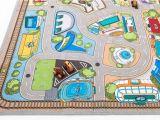 Road Rug for toy Cars Kids Carpet Rug Car Village Play Mat for Kids Room Decor 79 X 55