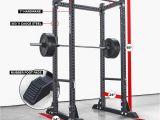 Rogue Squat Rack with Pull Up Bar Rm 390f Flat Foot Monster Rack Strength Training Pinterest