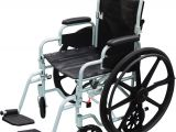 Rollator Walker Transport Chair Combo Poly Fly High Strength Lightweight Wheelchair Flyweight Transport