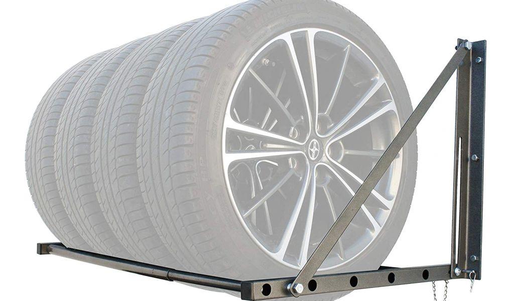 Rolling Tire Storage Rack Beauteous Rolling Tire Storage Rack Amazon Com Maxxhaul 60 60 Lb Capacity