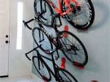 Rolling Tire Storage Rack Multiple Bikes Hanging Rack System Dahanger Dan Pedal Hook