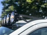 Roof Rack Light Bar Mount Kc Hilites Gravity Led Pro6 Modular Expandable and Adjustable Led