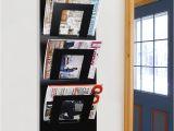 Rotating Magazine Rack Uk Wall Mount Bathroom Magazine Rack Talentneeds Com