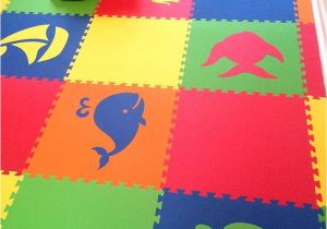 Rubber Children S Floor Mats Mixed Animal Foam Mats Create Custom Play Mats for Kids D172