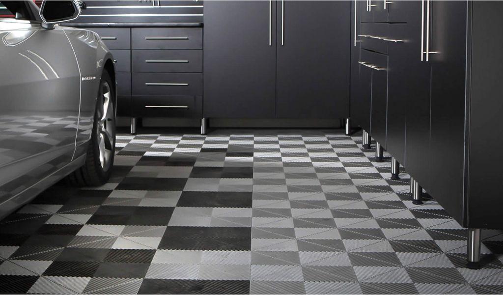 Rubber Flooring Tiles Garage Garage Floor Tiles Tranform Customize