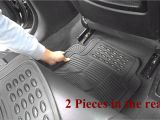 Rubbermaid Floor Mats for Cars Universal Rubber Car Floor Mats Thpandacover Youtube