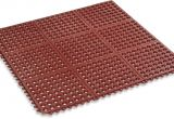 Rubbermaid Floor Mats Office Amazon Com Kempf Rubber Anti Fatigue Drainage Mat Interlocking for