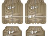 Rubbermaid Rubber Floor Mats Black 4pk Amazon Com Armor All 78842 4 Piece Tan All Season Rubber Floor Mat
