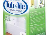 Rustoleum Bathtub Refinishing Kit 32oz Wht Tub Tile Kit Set 0f 2 Amazon Com