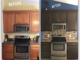 Rustoleum Furniture Transformations Used Rustoleum Cabinet Transformation Remodeling Kitchen