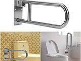 Safety Bars for Bathrooms Amazon Folding Handicap Grab Bars Rails toilet