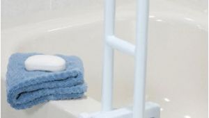 Safety Bars for Bathtubs Medmobile Bathtub Grab Bar Locks to Tub Side for Safety