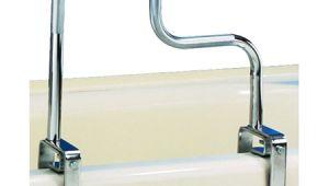 Safety Grab Bars for Bathtubs Carex Tri Grip Bathtub Safety Rail Grab Bar with Chrome