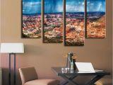 Salt Creek Office Furniture Wall Art 4 Piece Canyonlands Salt Creek Trail Wall Painting Print On
