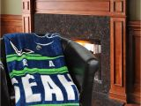 Seahawks Furniture Seattle Seahawks 60 X 80 Stacked Silk touch Plush Blanket