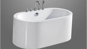 "Semi Freestanding Bathtub Aquatica Purescape 55"" X 30"" Semi Freestanding Acrylic"