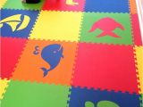 Sesame Street Floor Rug Mixed Animal Foam Mats Create Custom Play Mats for Kids D172