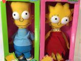 Sesame Street Rag Doll Bart Lisa Simpson Vtg Rag Doll Lot 2 Dan Dee 1990 15 Never Removed