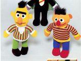 Sesame Street Rag Doll Image Knickerbocker 1978 Catalog Talking Rag Doll Ernie Bert Count