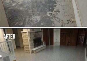Sherwin Williams Metallic Epoxy Floor Metallic Marble Epoxy Basement Flooring In Russell Ohio Basement