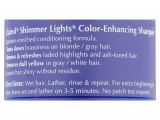 Shimmer Lights Purple Shampoo Clairol Professional Shimmer Lights Blonde and Silver Shampoo 16 Fl