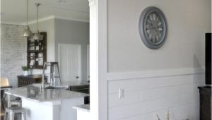 Shiplap Siding Interior Walls for Sale Casing A Doorway and Adding Corbels Upgrade From Builder Basic by