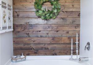 Shiplap Siding Interior Walls Walking the Plank Master Bathroom Progress Pinterest Planked