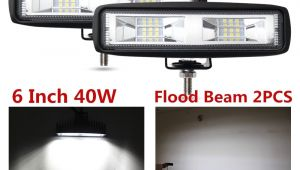 Side by Side Light Bar Co Light Super Slim 6d 20 Inch 90w Led Light Bar Combo Led Beams
