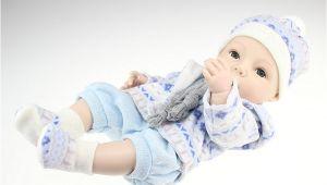 """Silicone Baby Bathtub 16"""" Handmade Reborn Newborn Baby Doll Full soft Silicone"""