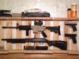 Simple Wood Gun Rack Plans Diy Gun Rack Out Of Wooden Pallet Home Decor Pinterest Wooden