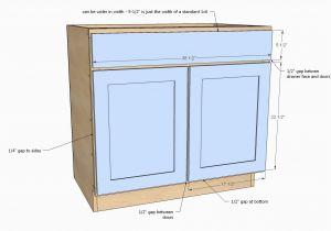 Sink Base Cabinet Sizes Kitchen Sink Base Cabinet Sizes Unique Ana White  Home Ideas