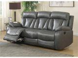 Sleeper sofa Gray Tufted Leather Sleeper sofa Fresh sofa Design